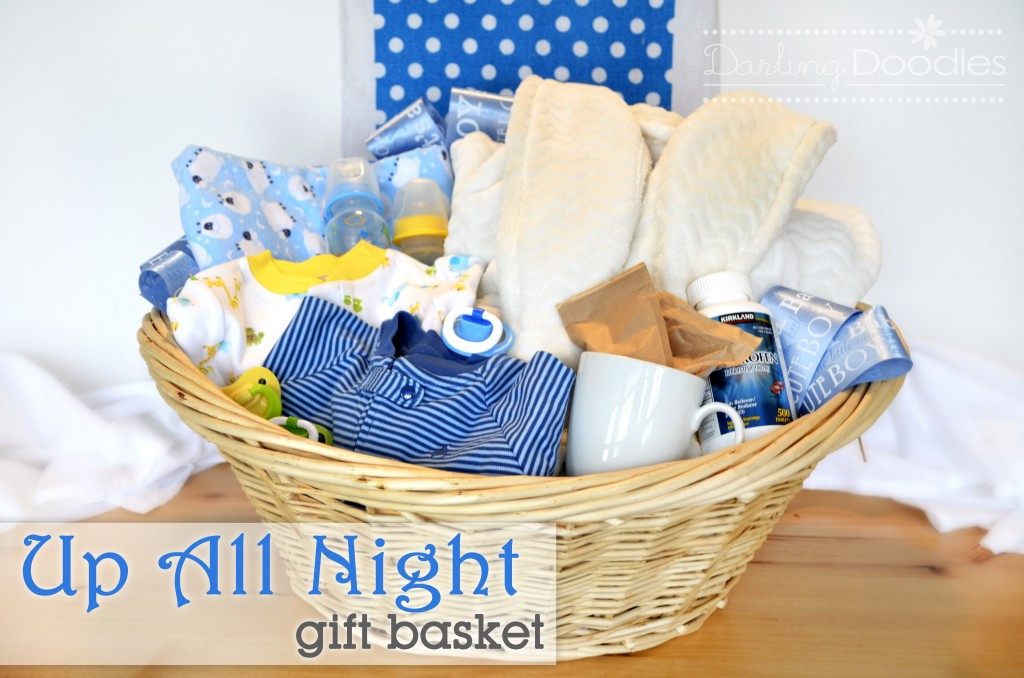 Newborn Baby Gift Ideas For Parents  Up All Night Survival Kit Darling Doodles