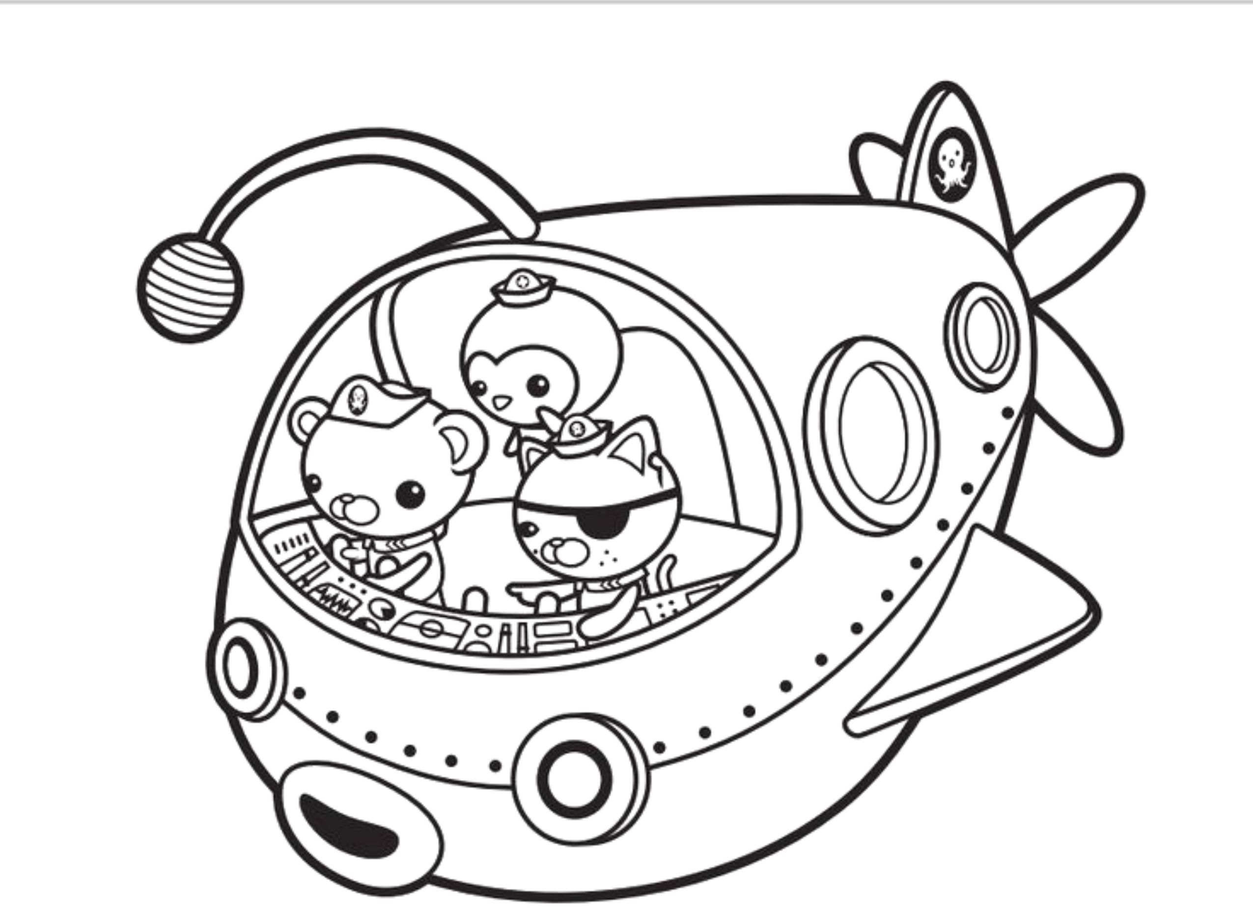 Octonauts Coloring Pages  Print & Download Octonauts Coloring Pages for Your Kid's