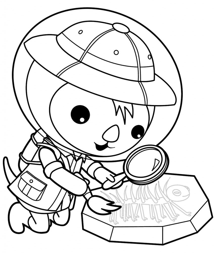 Octonauts Coloring Pages  Free Printable Octonauts Coloring Pages