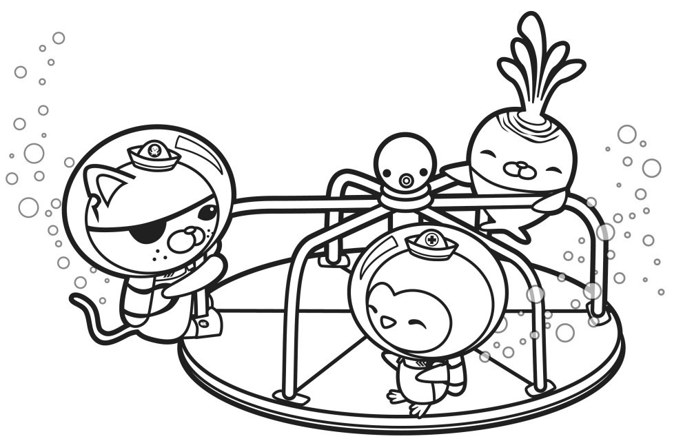 Octonauts Coloring Pages  Octonauts Coloring Pages Best Coloring Pages For Kids
