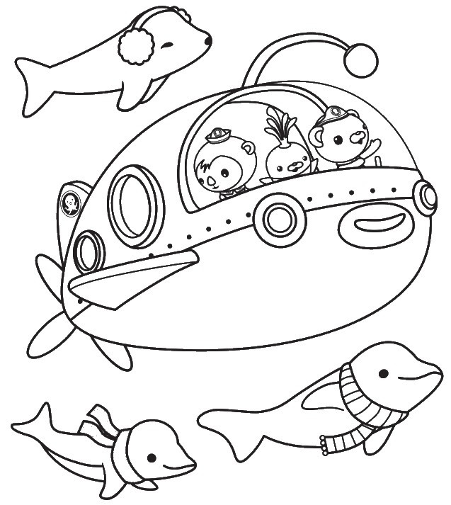 Octonauts Coloring Pages  The Octonauts Coloring Pages