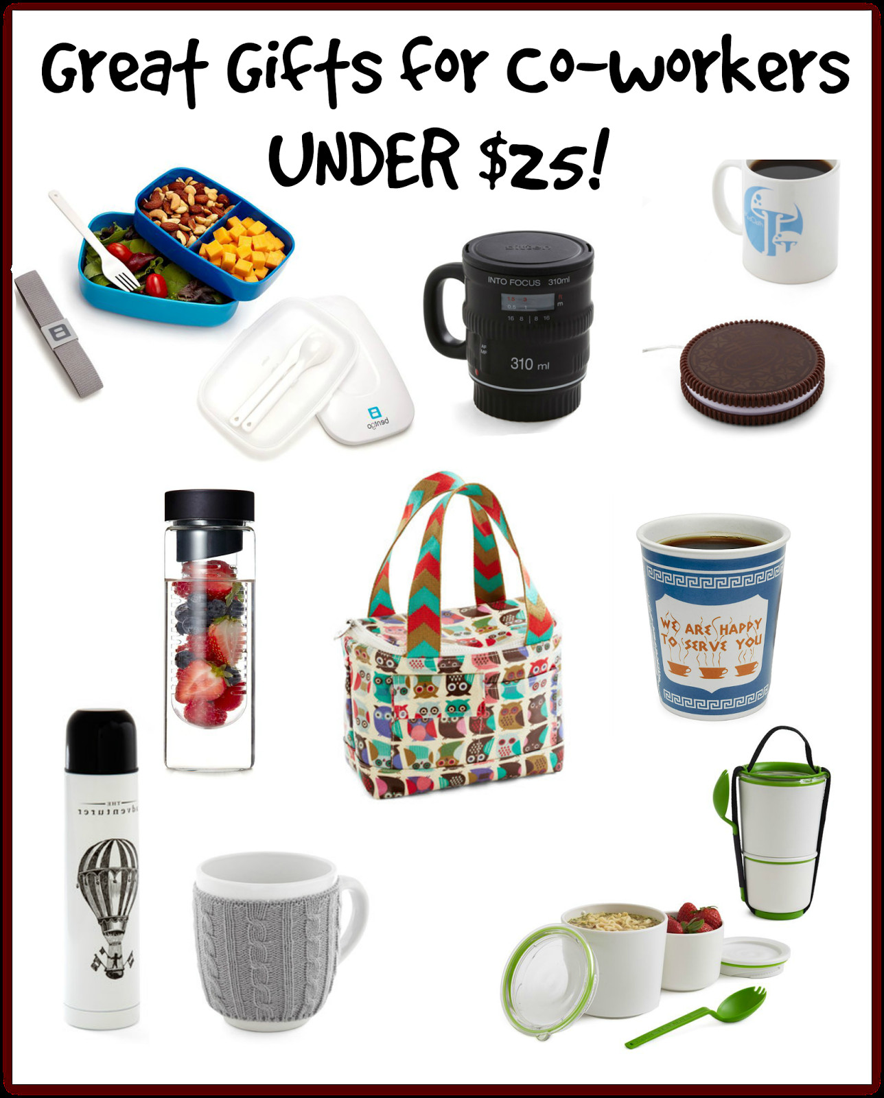 Office Holiday Gift Ideas  A BEAUTIFUL LITTLE LIFE Gifts for Co Workers Colleagues