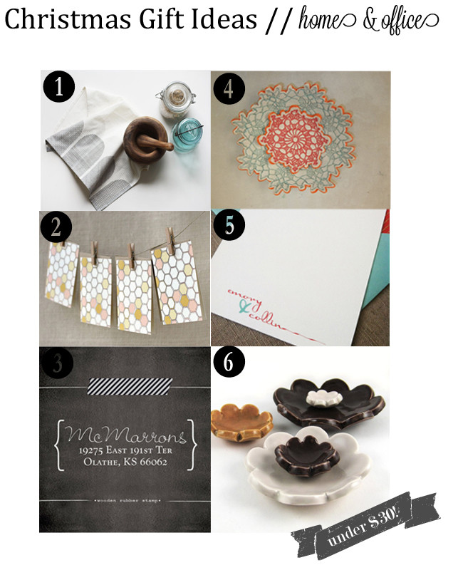 Office Holiday Gift Ideas  Holiday Gift Ideas Home & fice – The Small Things Blog