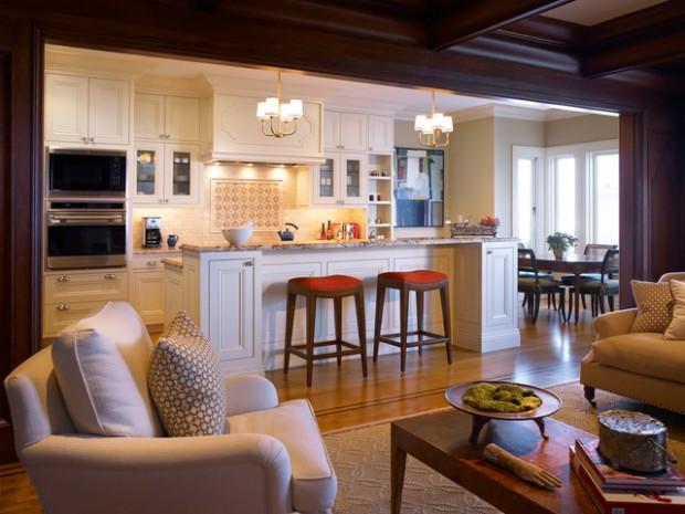 Open Kitchen Design  17 Open Concept Kitchen Living Room Design Ideas Style