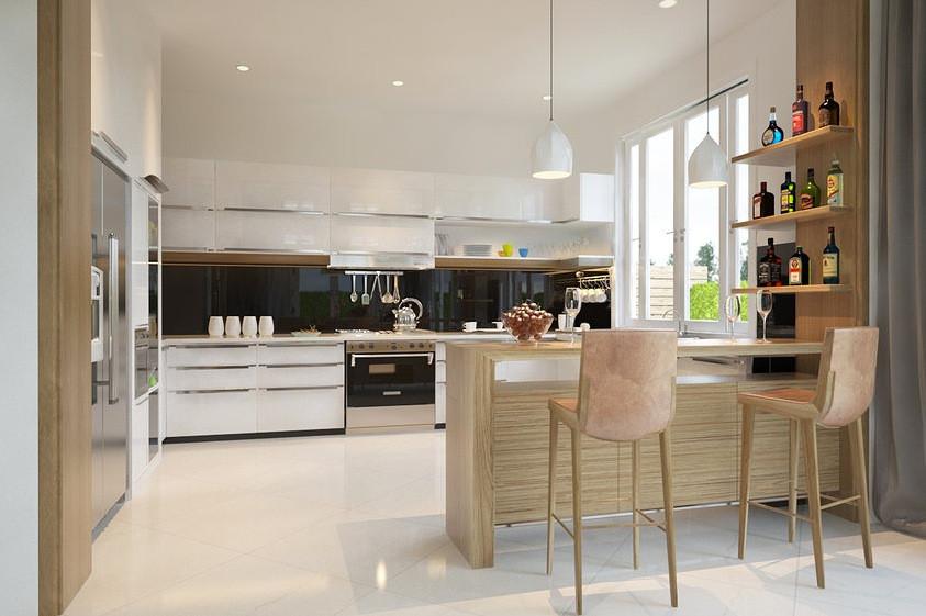 Open Kitchen Design  Interior Designs Filled with Texture