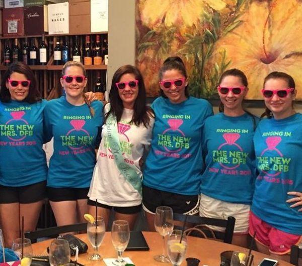 Orlando Bachelorette Party Ideas  NYE bachelorette party bachelorette shirts