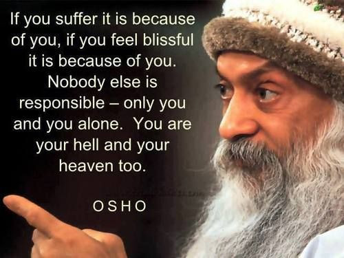 Osho Quote On Life  Osho Quotes The 25 Best Sayings Truth Life & Love