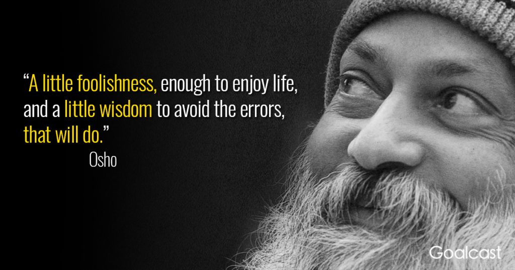 Osho Quote On Life  Osho & Wild Wild Country Drugs Fraud The Truth