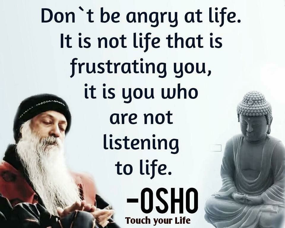 Osho Quote On Life  Osho quotes Q u o t e s