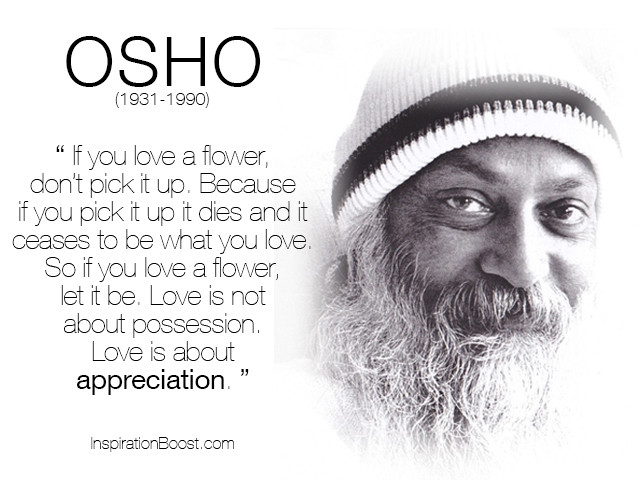 Osho Quote On Life  2013 June