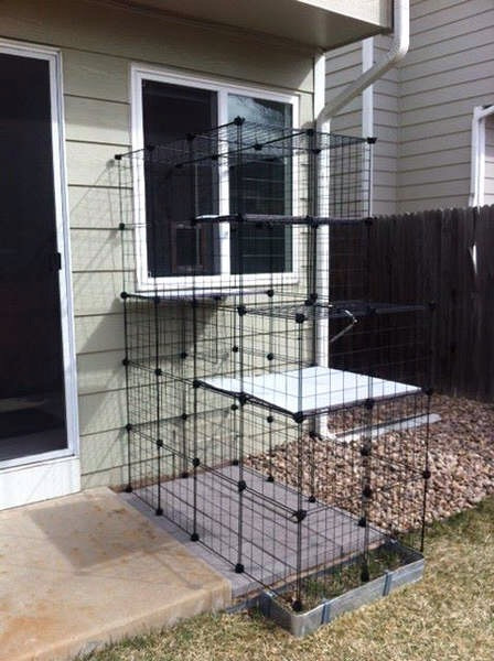 Outdoor Cat Enclosures DIY  How to build your own catio from Cat and Caboodle