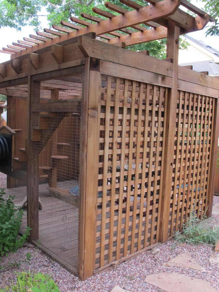 Outdoor Cat Enclosures DIY  Best 25 Cat enclosure ideas on Pinterest