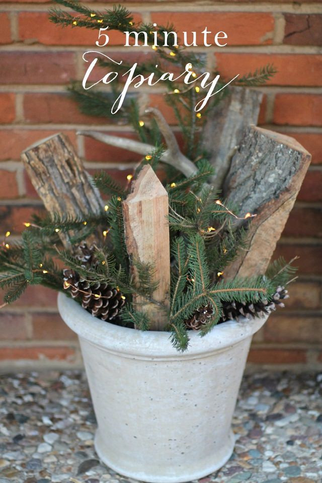 Outdoor Christmas Decorations DIY  27 Cheerful DIY Christmas Decoration Ideas You Should Look