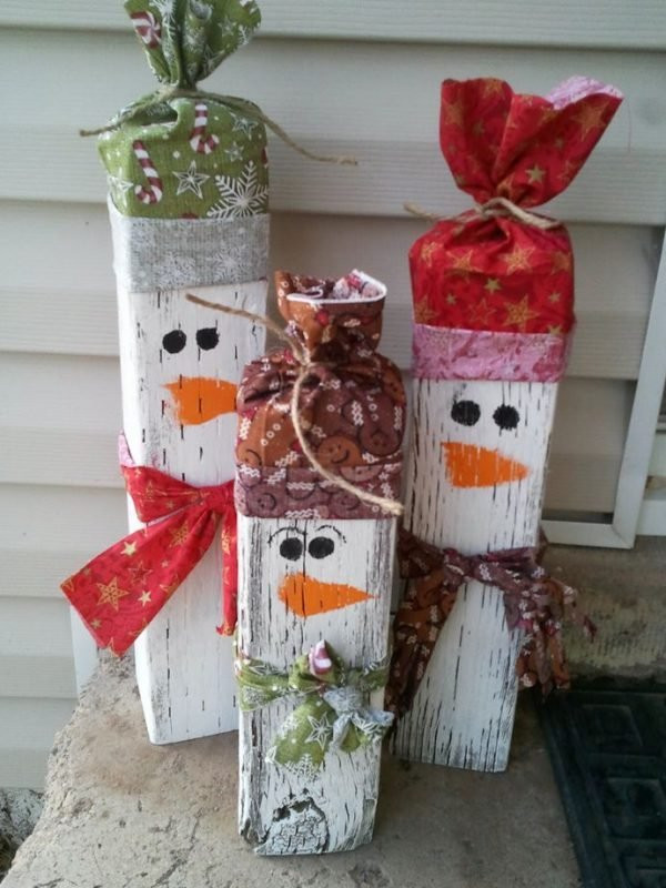 Outdoor Christmas Decorations DIY  Diy Christmas outdoor decorations ideas Little Piece Me