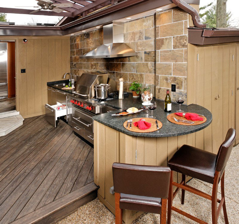 Outdoor Kitchen Designs  Upgrade Your Backyard with an Outdoor Kitchen