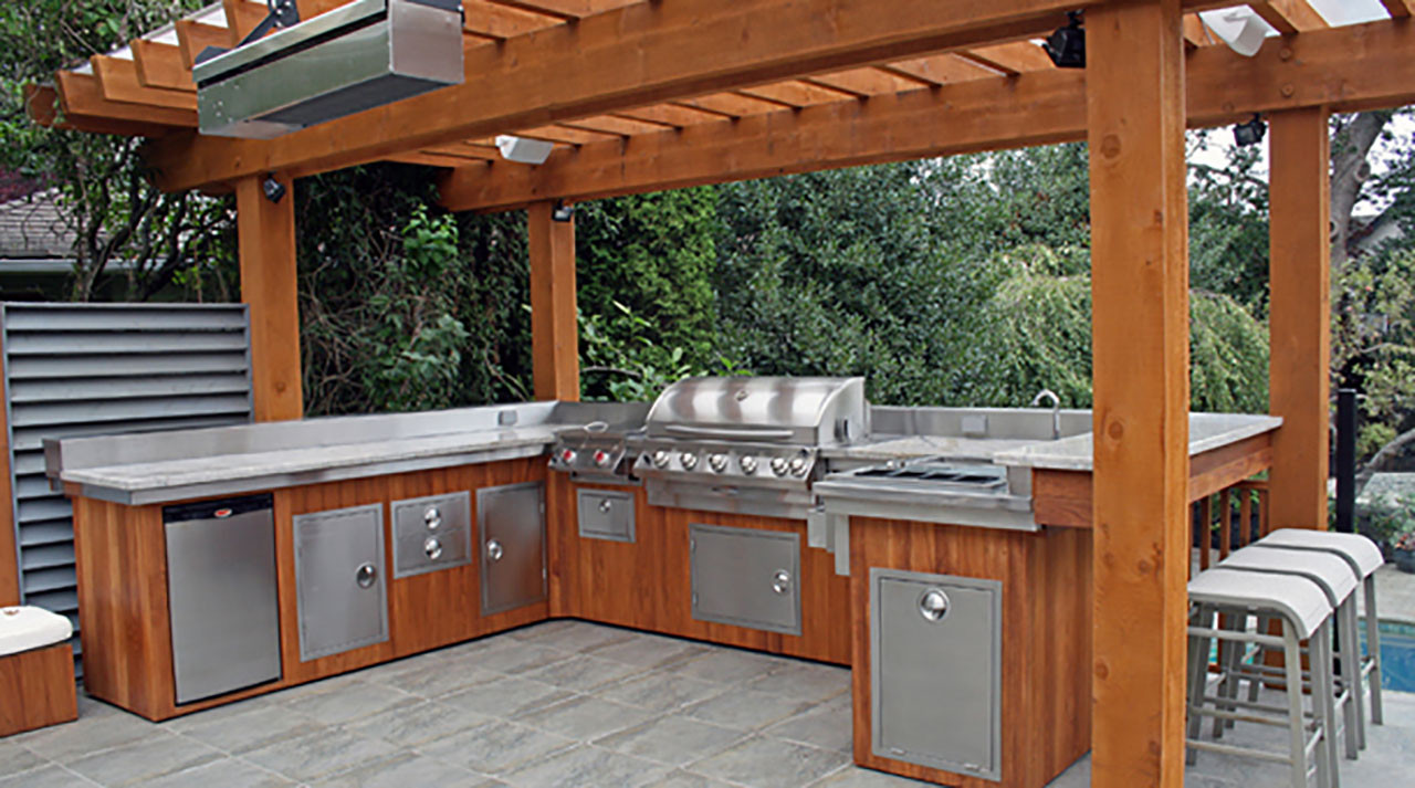 Outdoor Kitchen Designs  Outdoor Kitchens The Hot Tub Factory Long Island Hot Tubs