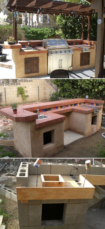Outdoor Kitchen Diy  Design Your Space Outdoor Kitchen Ideas