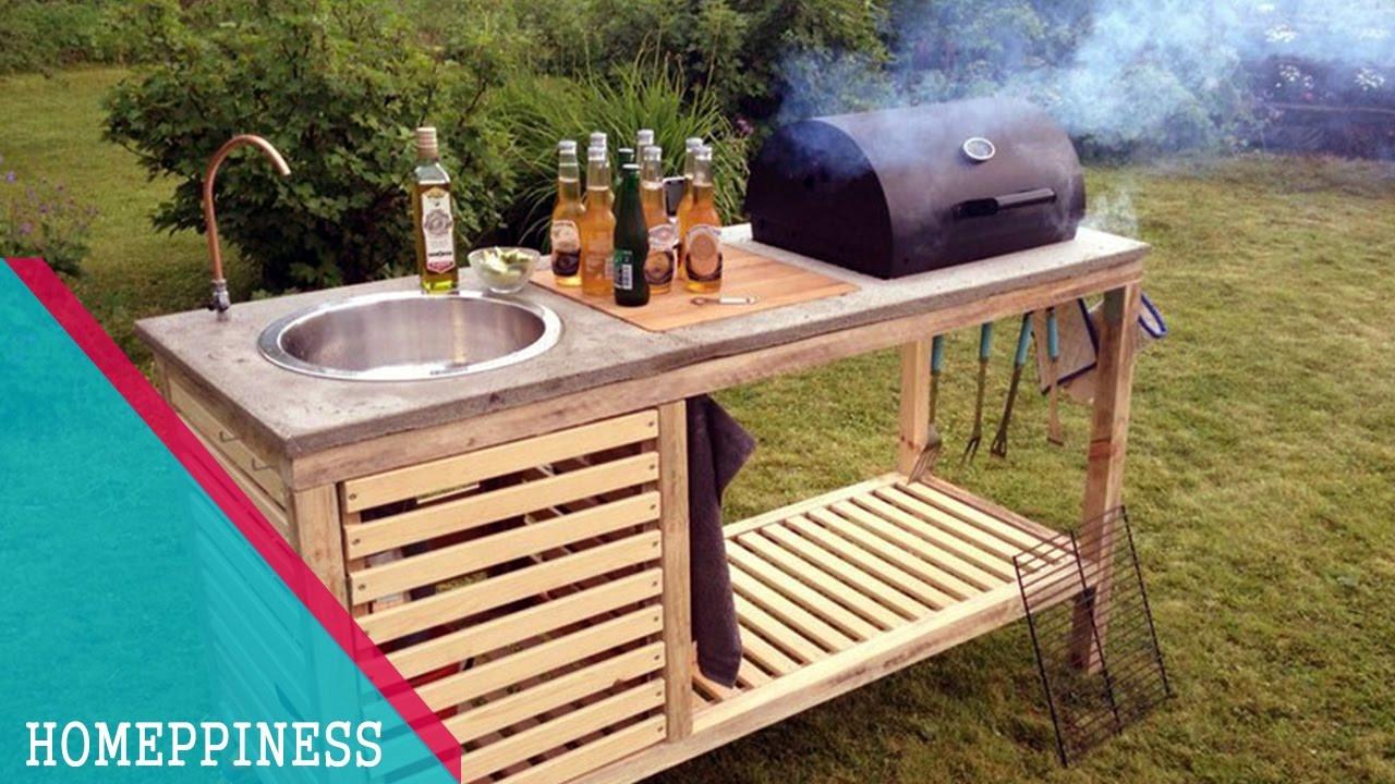 Outdoor Kitchen Diy  NEW DESIGN 2017 20 DIY Outdoor Kitchen Ideas