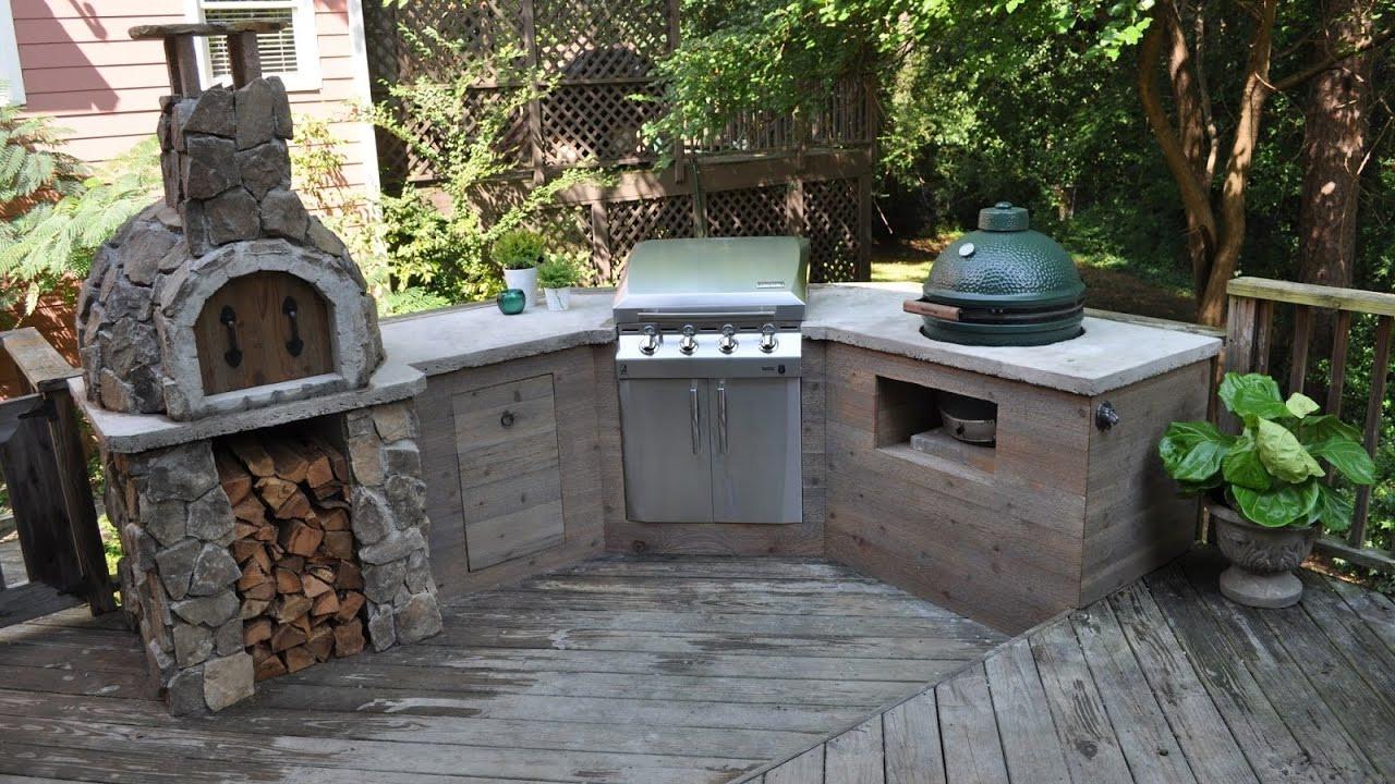 Outdoor Kitchen Diy  Outdoor Kitchen Diy