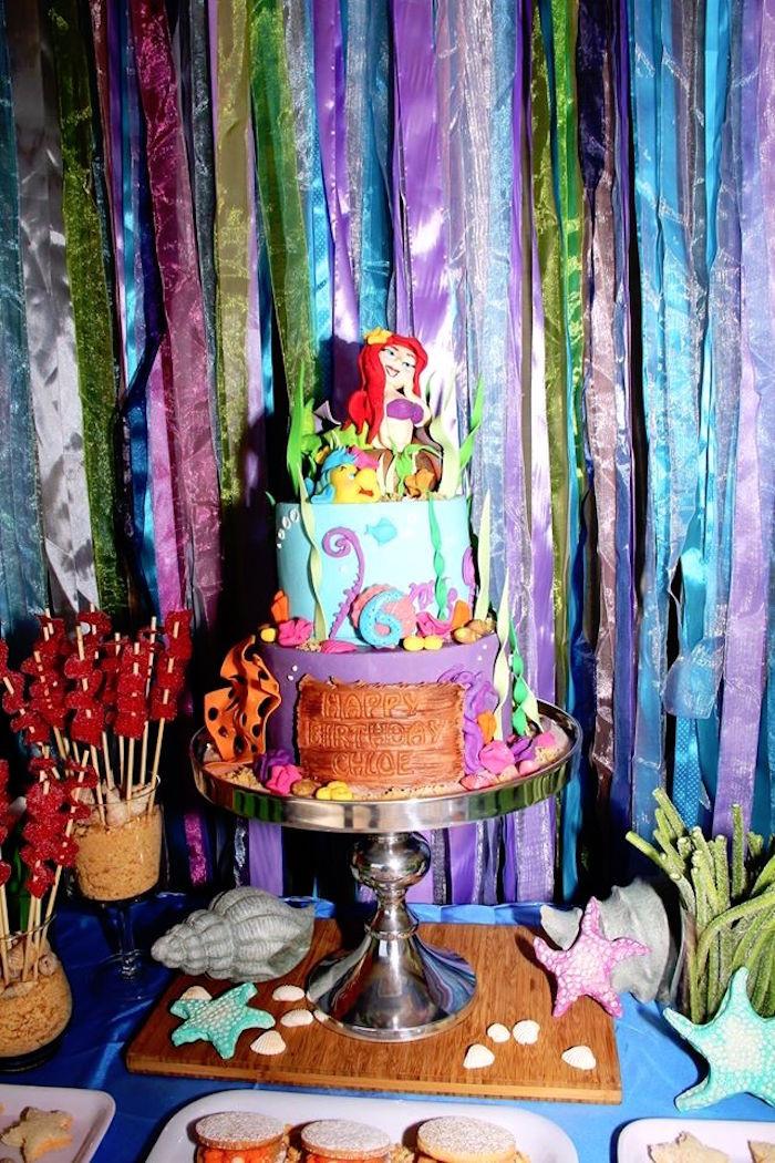 Party Ideas Little Mermaid  Kara s Party Ideas Ariel The Little Mermaid Birthday