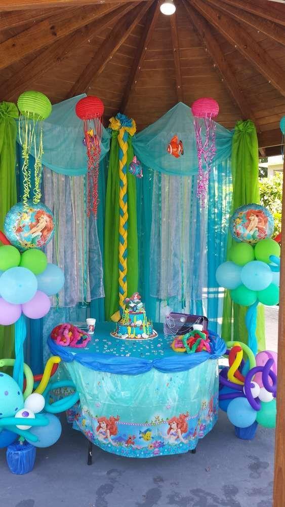 Party Ideas Little Mermaid  little Mermaid Birthday Party Ideas
