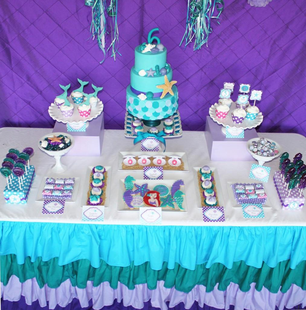 Party Ideas Little Mermaid  Little Mermaid Party