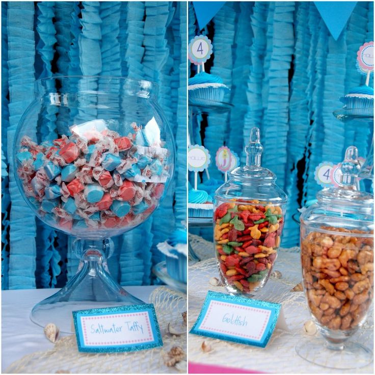 Party Ideas Little Mermaid  119 best images about Mermaid party ideas on Pinterest