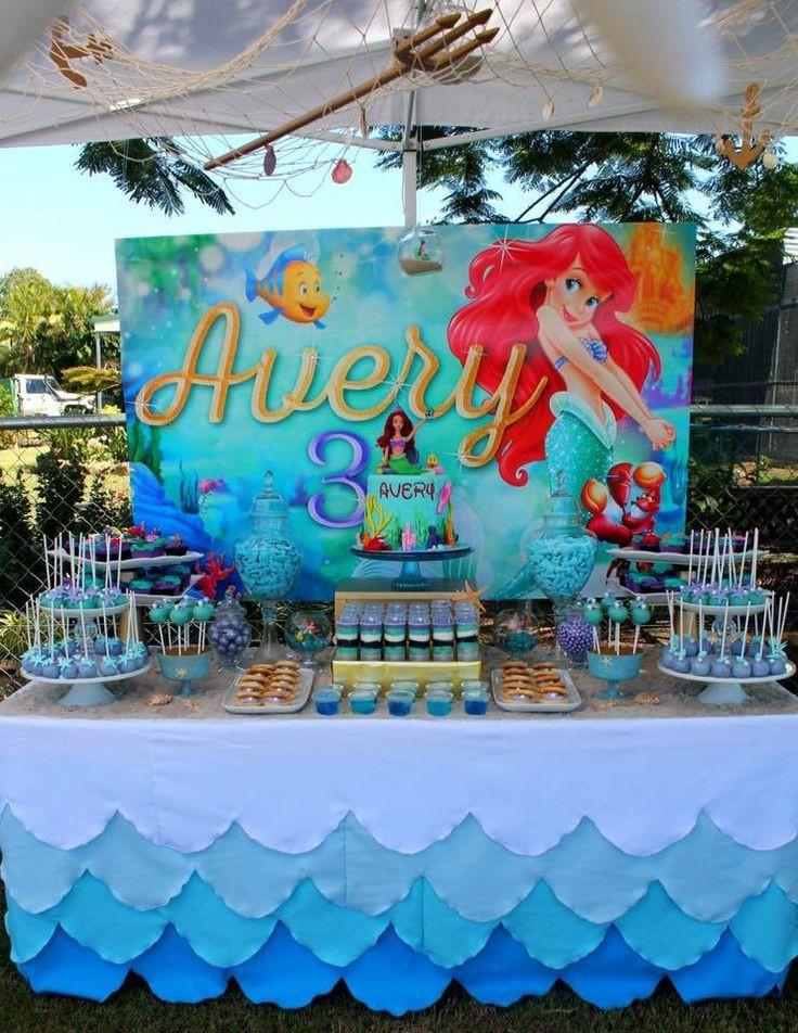Party Ideas Little Mermaid  Best 25 Little mermaid decorations ideas on Pinterest