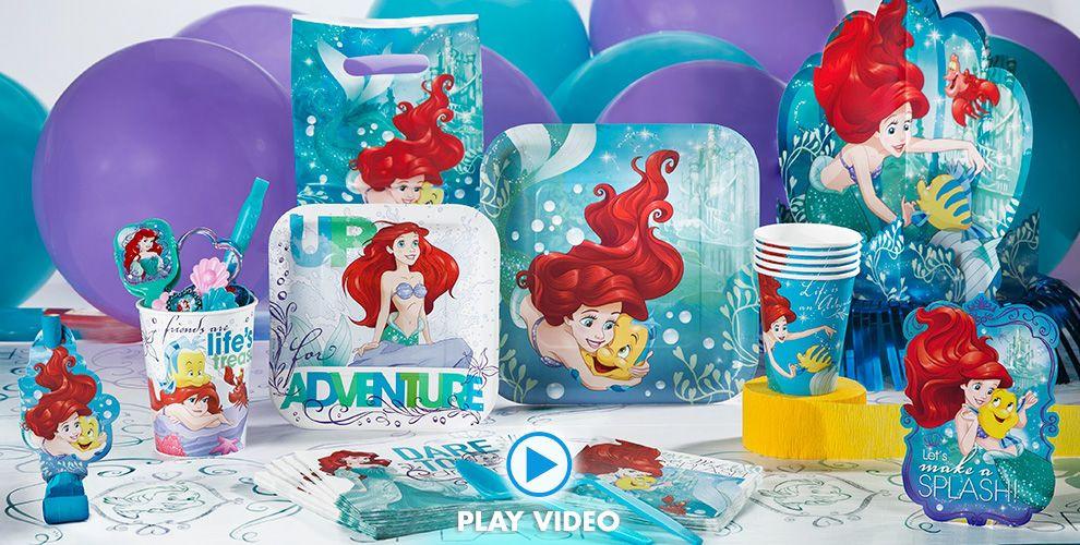 Party Ideas Little Mermaid  Little Mermaid Party Supplies Little Mermaid Birthday
