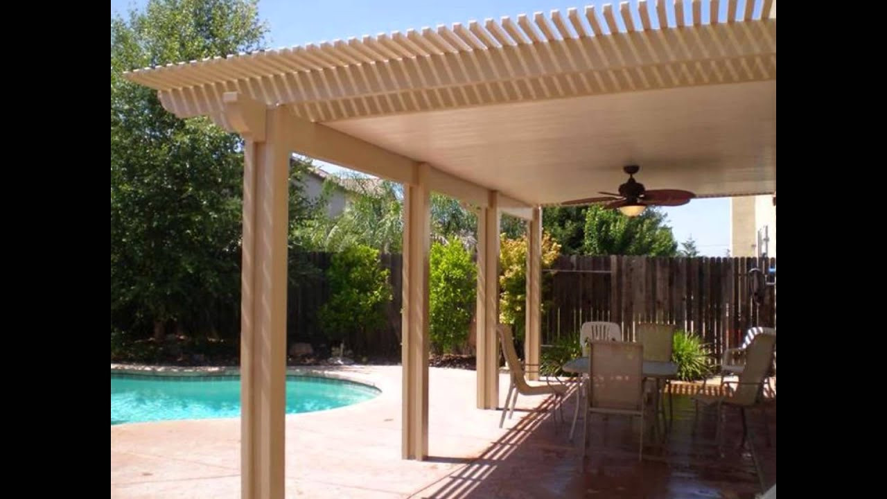 Patio Cover Plans DIY  diy patio covers