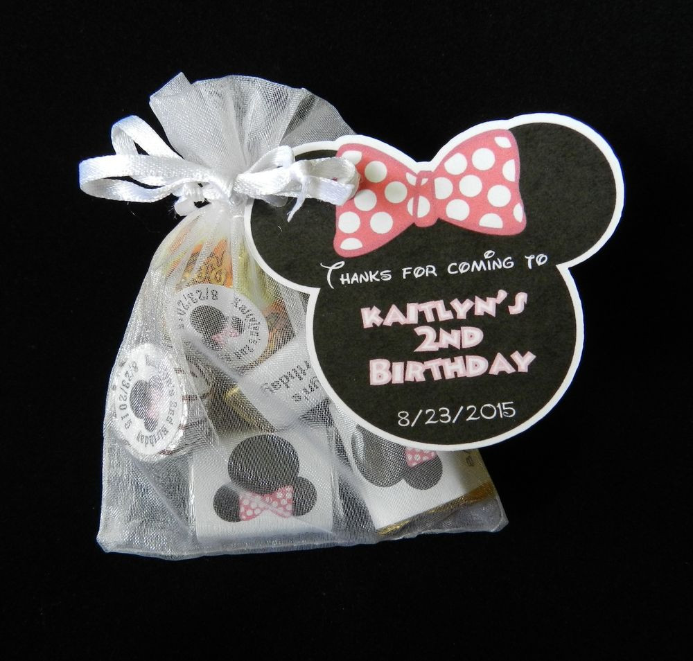 Personalized Birthday Decorations  PERSONALIZED MINNIE MOUSE BIRTHDAY PARTY BABY SHOWER PARTY