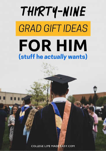 Phd Graduation Gift Ideas For Him  College Graduation Gifts for Him 39 Actually Unique