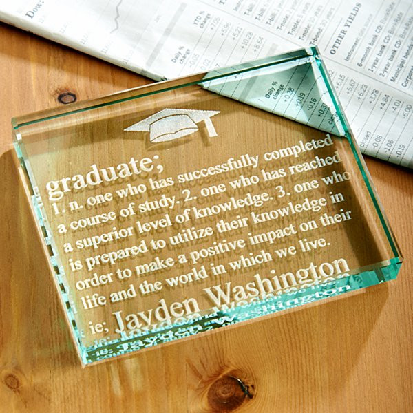 Phd Graduation Gift Ideas For Him  Personalized High School Graduation Gifts at Personal