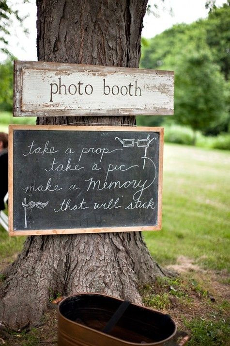 Photo Booth Ideas For Graduation Party  DIY Booth Ideas For Outdoor Entertaining