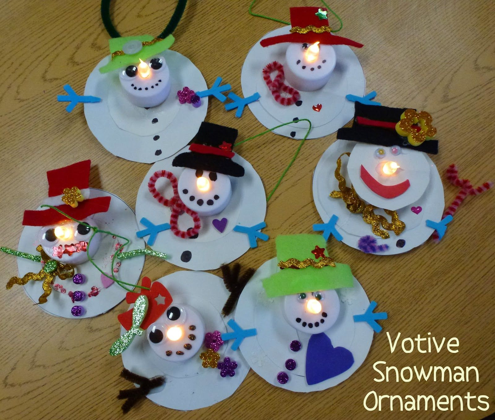 Pinterest Kids Crafts  Maybe have kids do a snowman craft at the beginning of