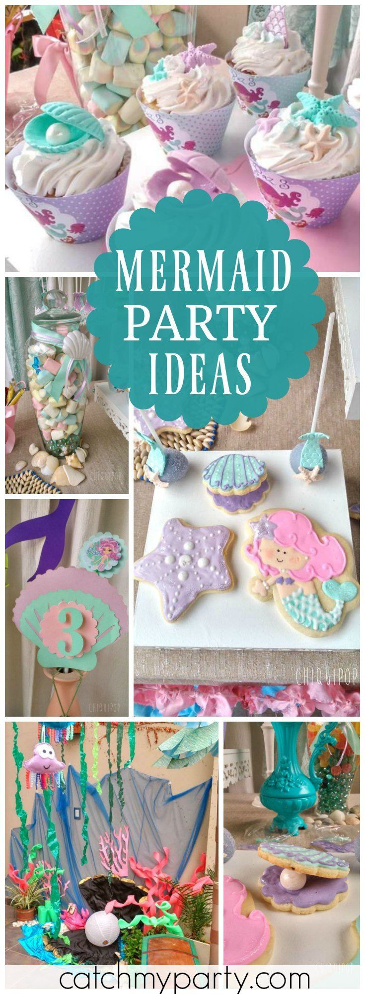 Pinterest Mermaid Party Ideas  1000 images about Mermaid Party Ideas on Pinterest