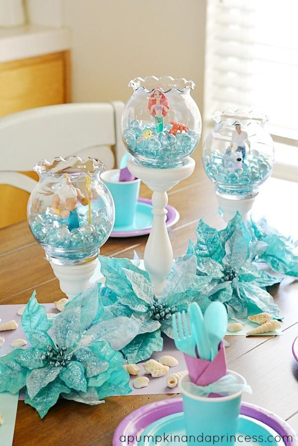 Pinterest Mermaid Party Ideas  25 Best Ideas about Little Mermaid Decorations on
