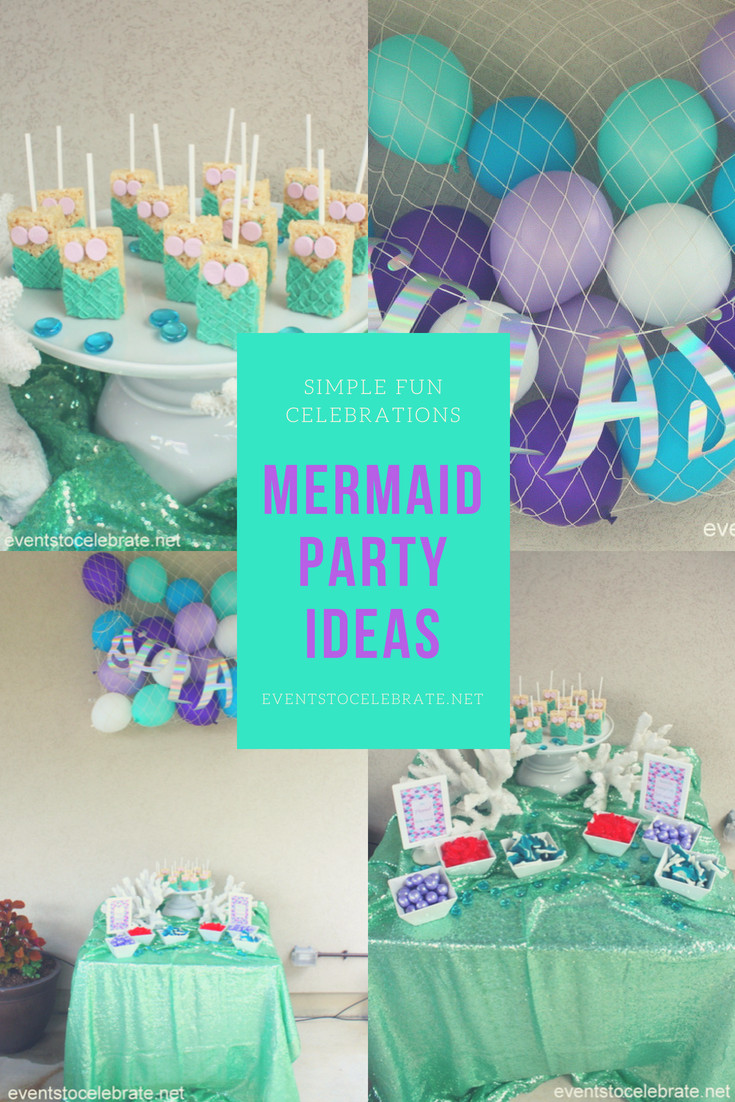 Pinterest Mermaid Party Ideas  events to CELEBRATE real parties for real people