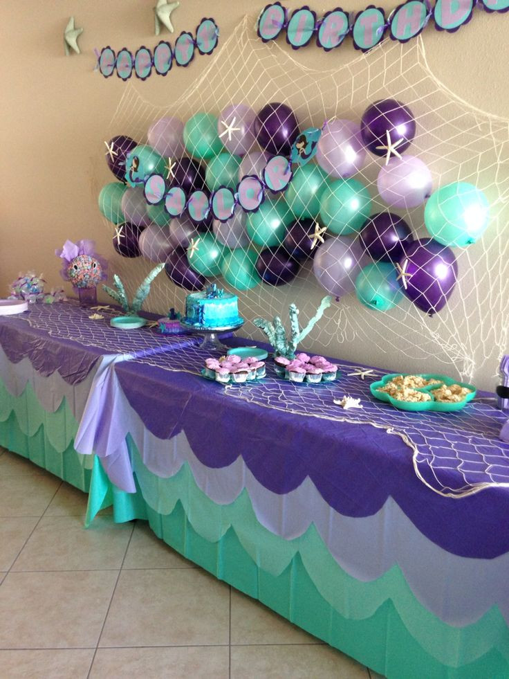 Pinterest Mermaid Party Ideas  25 best ideas about Mermaid birthday on Pinterest