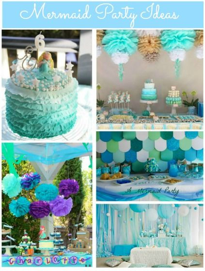 Pinterest Mermaid Party Ideas  Mermaid Party Ideas Pinterest