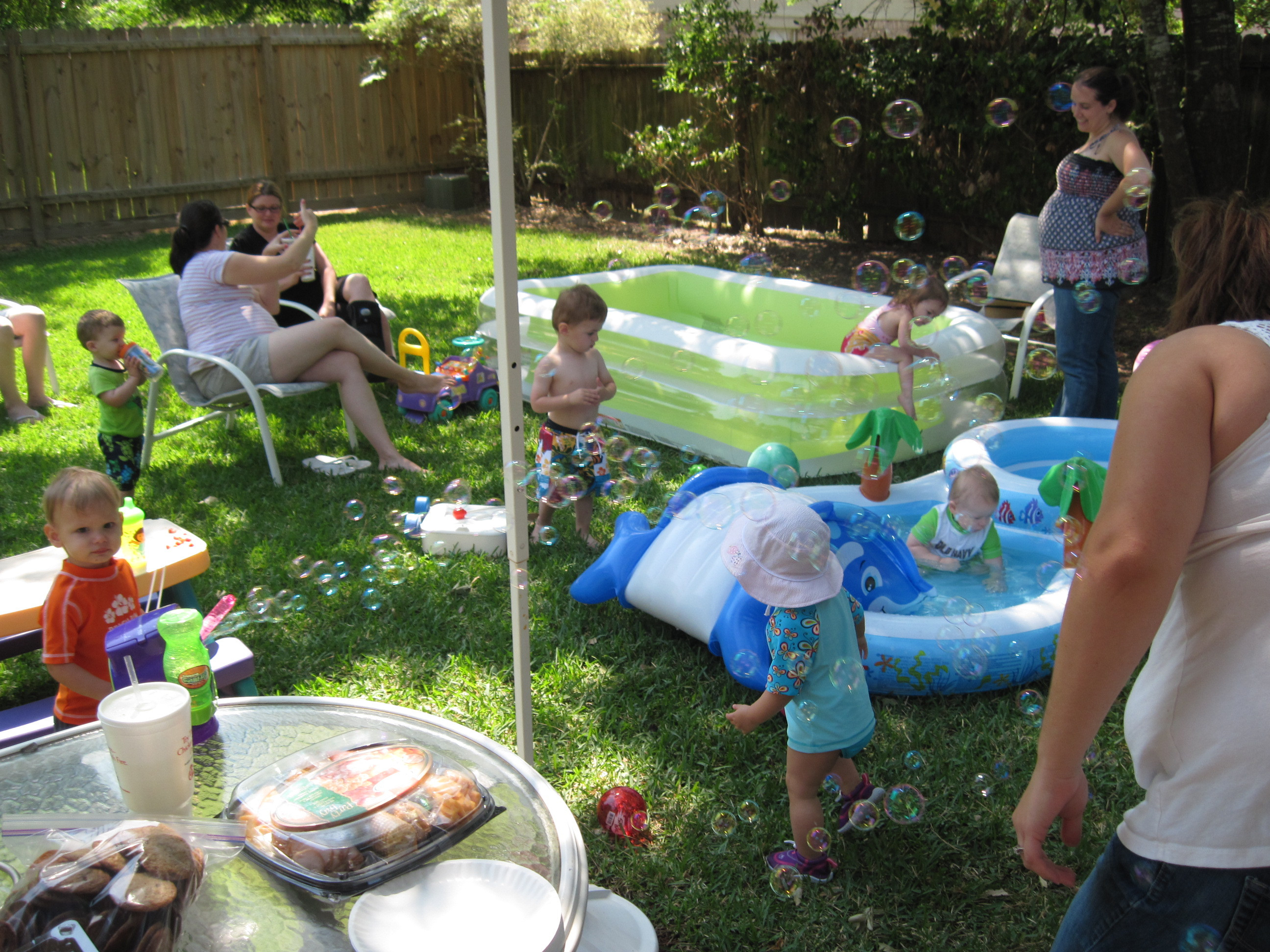 Pool Party Baby Shower Ideas  an s blog