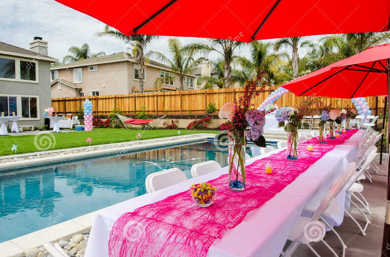 Pool Party Baby Shower Ideas  How To Plan Outdoor Baby Shower Party