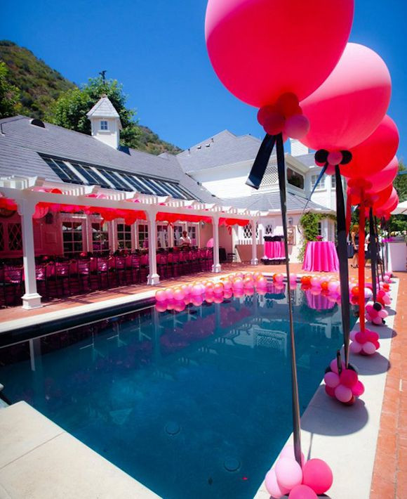 Pool Party Baby Shower Ideas  32 best images about Poolside bridal shower on