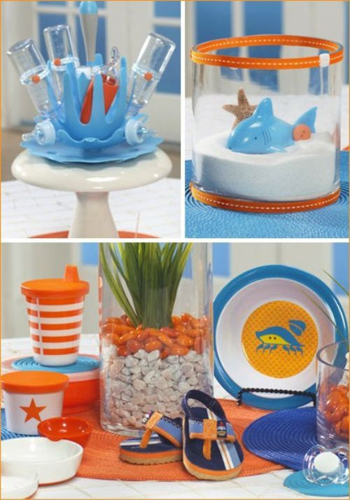Pool Party Baby Shower Ideas  371 best images about Pool Beach Luau Parties food