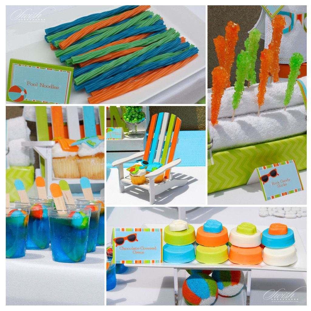 Pool Party Baby Shower Ideas  Summer Pool Party – Baby Shower Vendor Collaboration
