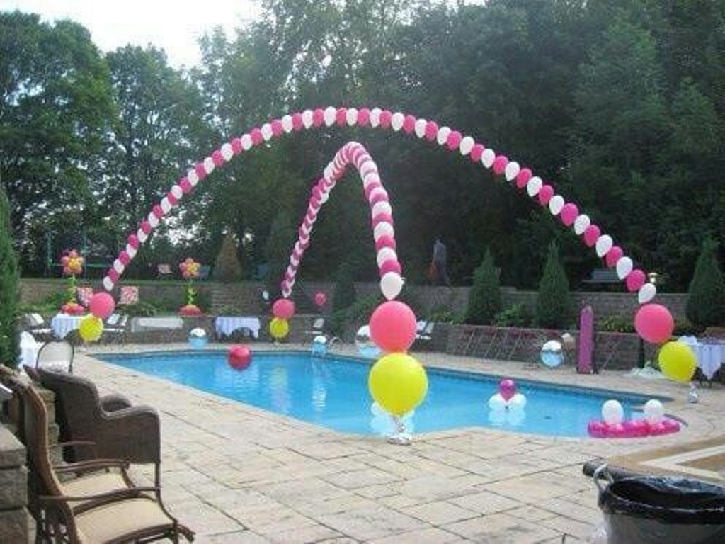 Pool Party Decorations Ideas  Marvelous Pool Party Decoration Ideas for Adult