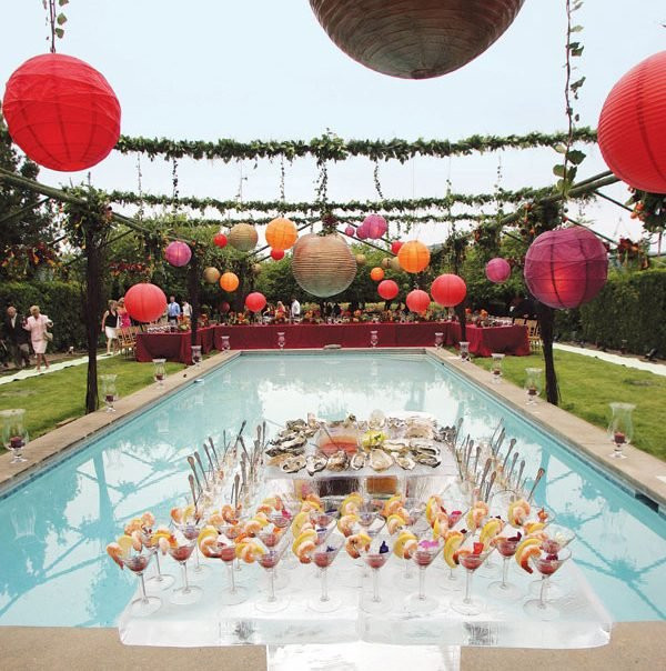 Pool Party Decorations Ideas  Cool pool party decor ideas Little Piece Me