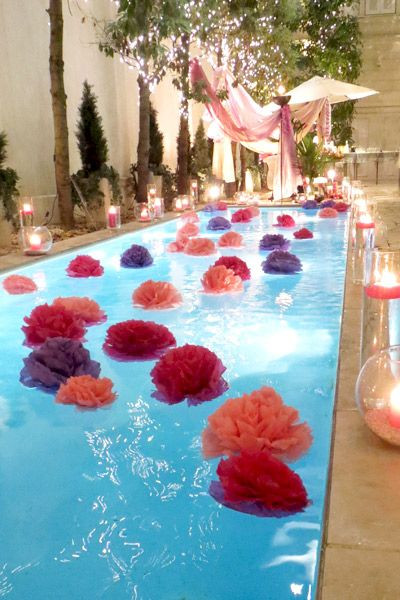 Pool Party Decorations Ideas  Pool Party Decorating Ideas