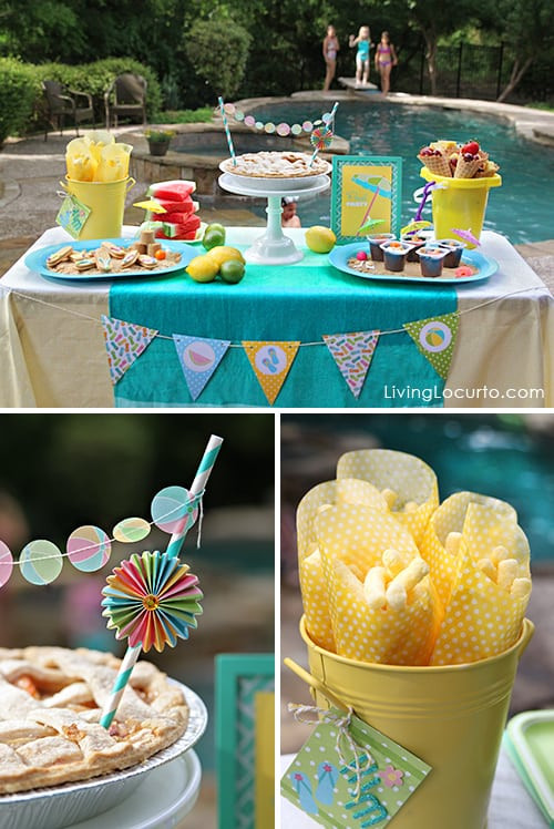 Pool Party Decorations Ideas  The Best Pool Party Ideas
