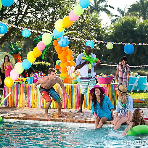 Pool Party Decorations Ideas  Pool Party Idea Summer Pool Party Ideas Summer Party